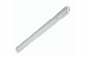 Mars One LED single batten with lamp