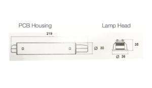 Remote Emergency Downlights