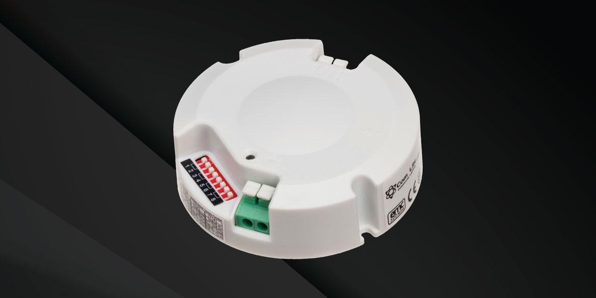 combination sensor driver for circular fixtures