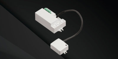 integral microwave sensor with detachable head ms01d