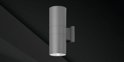 tegral up down exterior wall light