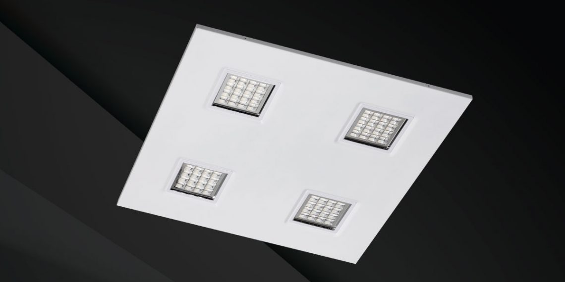Earth Four Low Glare Commercial Recessed Lighting